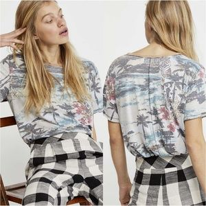 NWT Free People Tourist Tee